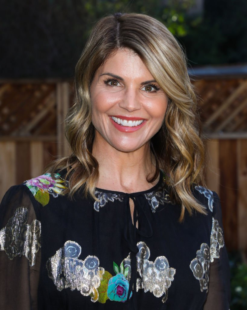 "Lori Loughlin visits Hallmark's ""Home & Family"" at Universal Studios Hollywood. 