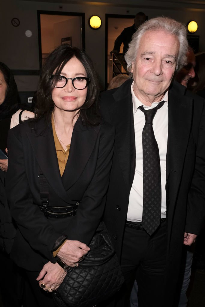 Pierre Arditi et Evelyne Bouix le 18 mars 2019 à Paris. l Source : Getty Images