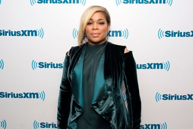 T-Boz poses for a picture as she guests on SiriusXM | Source: Getty Images/GlobalImagesUkraine