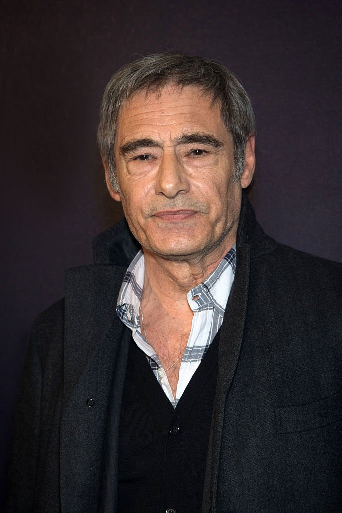 Gerard Lanvin assiste à la première de 'Eperdument' à l'UGCNormandie le 29 février 2016 à Paris, France. | Photo : Getty Images