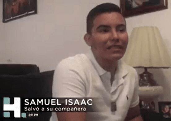 Samuel Isaac Gallegos Rico . | Imagen tomada de: Facebook/Azteca Noticias