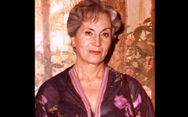 María Teresa Rivas.   Imagen: YouTube / ALEJANDRO ZUNIGA RECORDANDO