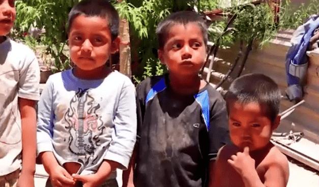 The kids live in the rural town of Miguel Alemán. | Source: Facebook/despiertasonoralacasadetodos