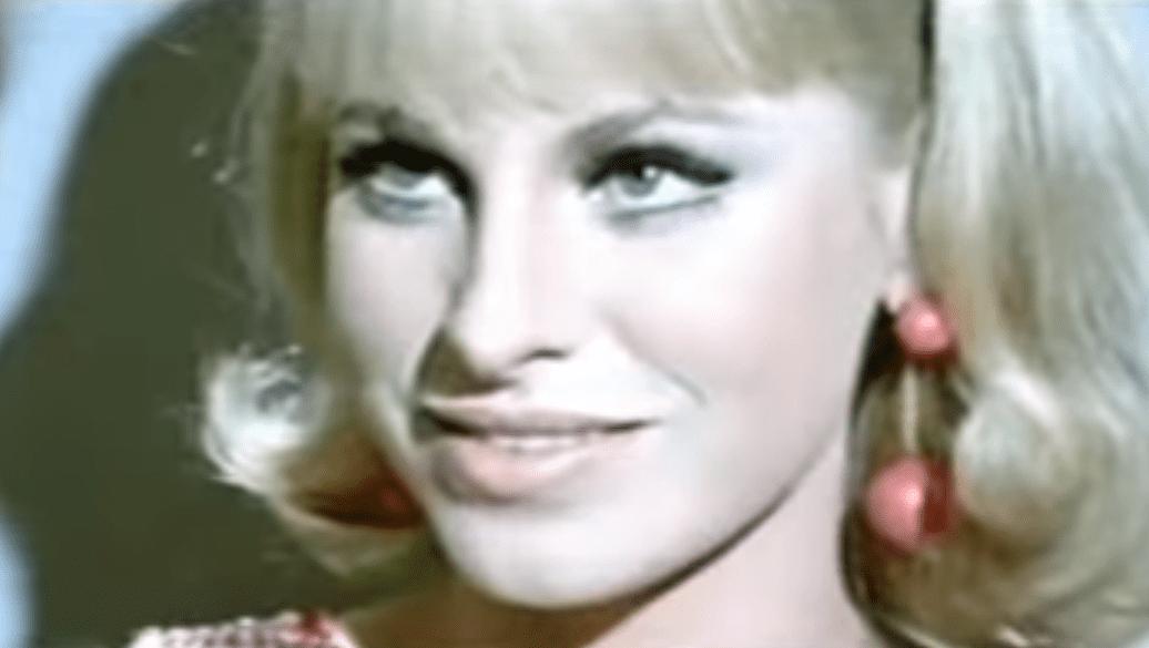 """Ingrid Garbo en la película """"EL Señorito"""" de 1969.   Imagen: YouTube/izharshow"""