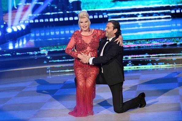 Ivana Trump and Rossano Rubicondi at RAI Auditorium on May 5, 2018 in Rome, Italy | Photo: Getty Images