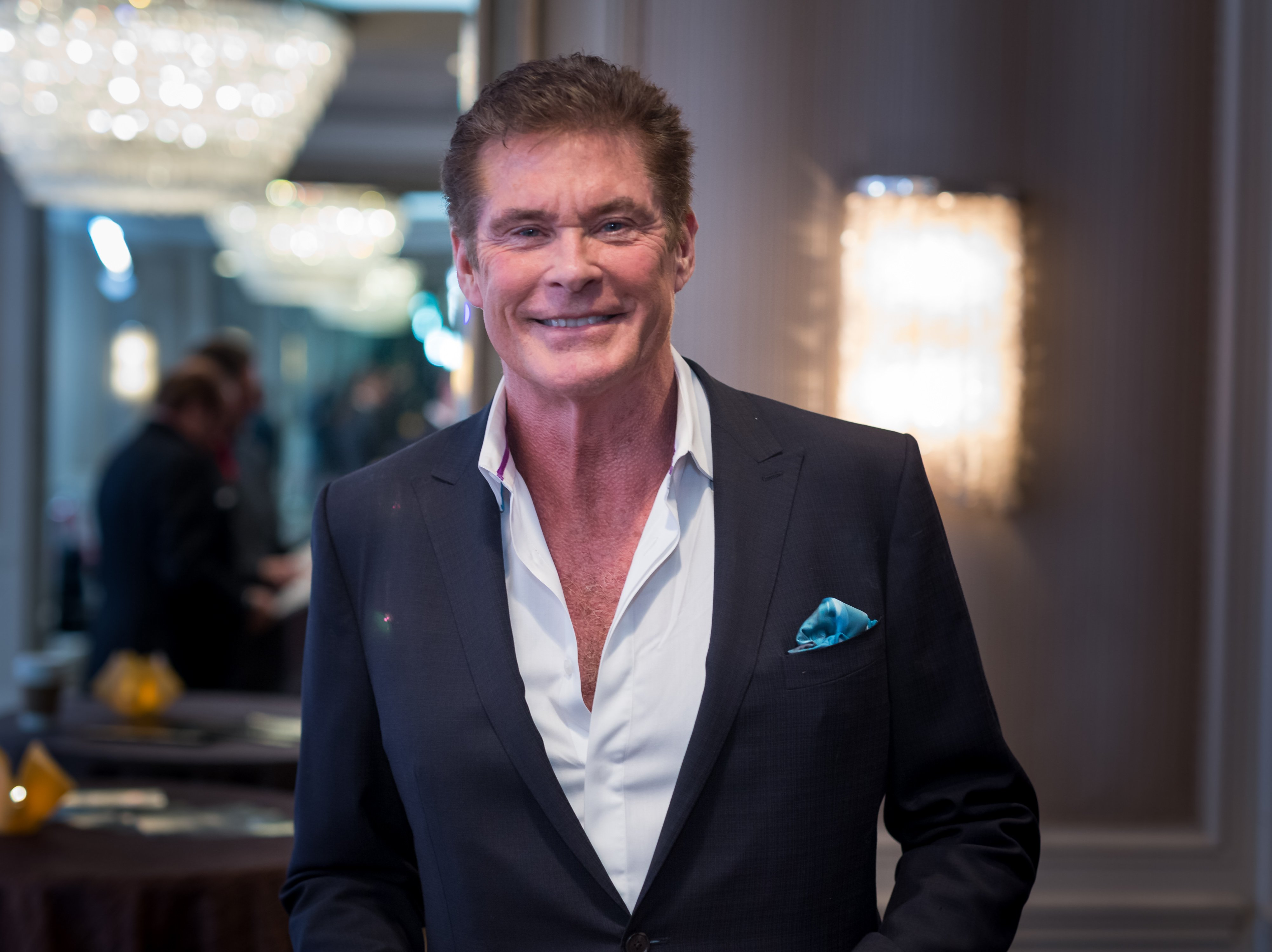 David Hasselhoff. I Image: Getty Images.