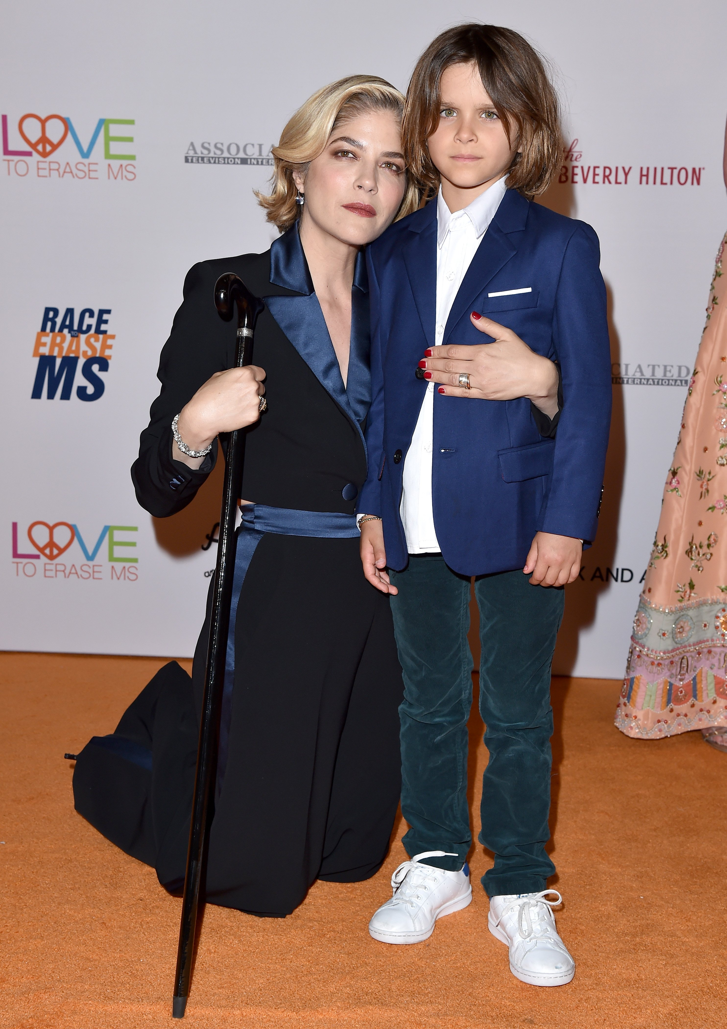 Selma Blair and Arthur Saint Bleick attend the Race to Erase MS Gala on May 10, 2019, in Beverly Hills, California.   Source: Getty Images.