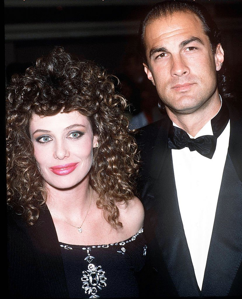 Model Kelly LeBrock and her husband, actor Steven Seagal attend the 16th Annual American Film Institute Lifetime Achievement Awards Honoring Jack Lemmon | Photo: Getty Images