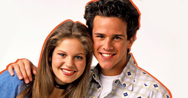 """Scott Weinger and Candace Cameron Bure as their """"Full House"""" characters during the 1990s.   Photo: Getty Images"""