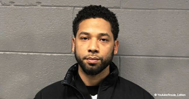 Jussie Smollett's mugshot released following arrest for allegedly making up hate crime attack