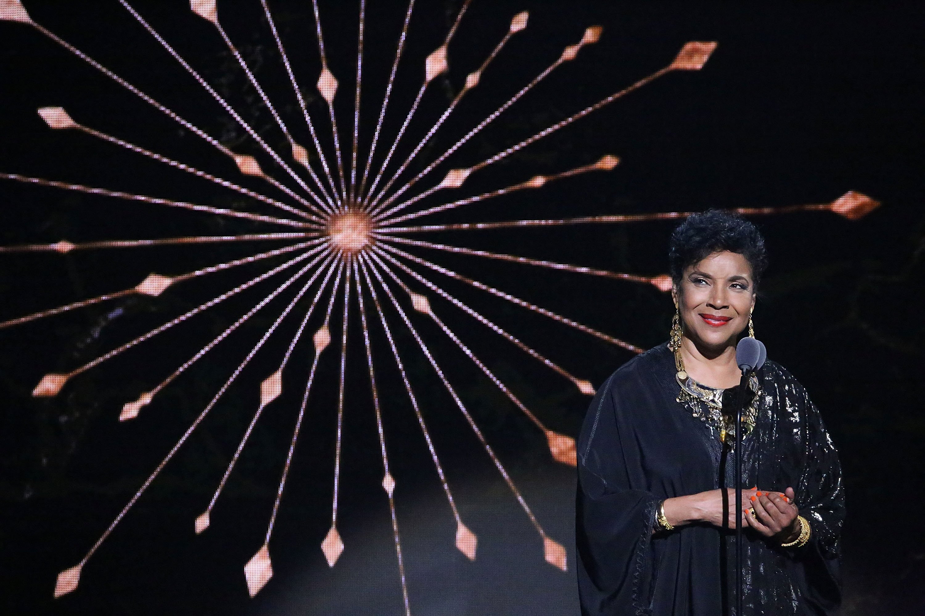 Phylicia Rashad onstage during the Black Girls Rock! 2018 show at New Jersey Performing Arts Center on August 26, 2018 in Newark, New Jersey | Photo: GettyImages