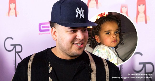 Rob Kardashian's daughter Dream looks like her dad as she makes a sassy face in adorable new pic
