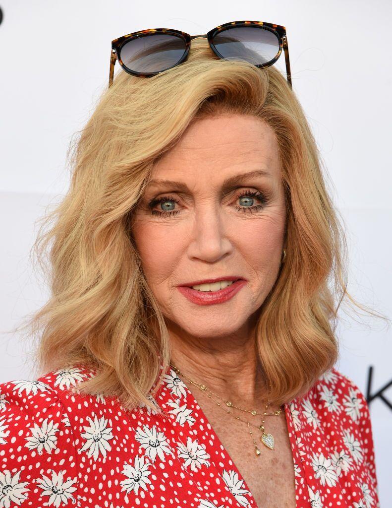 Donna Mills arrives at the 2019 Festival of Arts Celebrity Benefit Event  | Getty Images / Global Images Ukraine