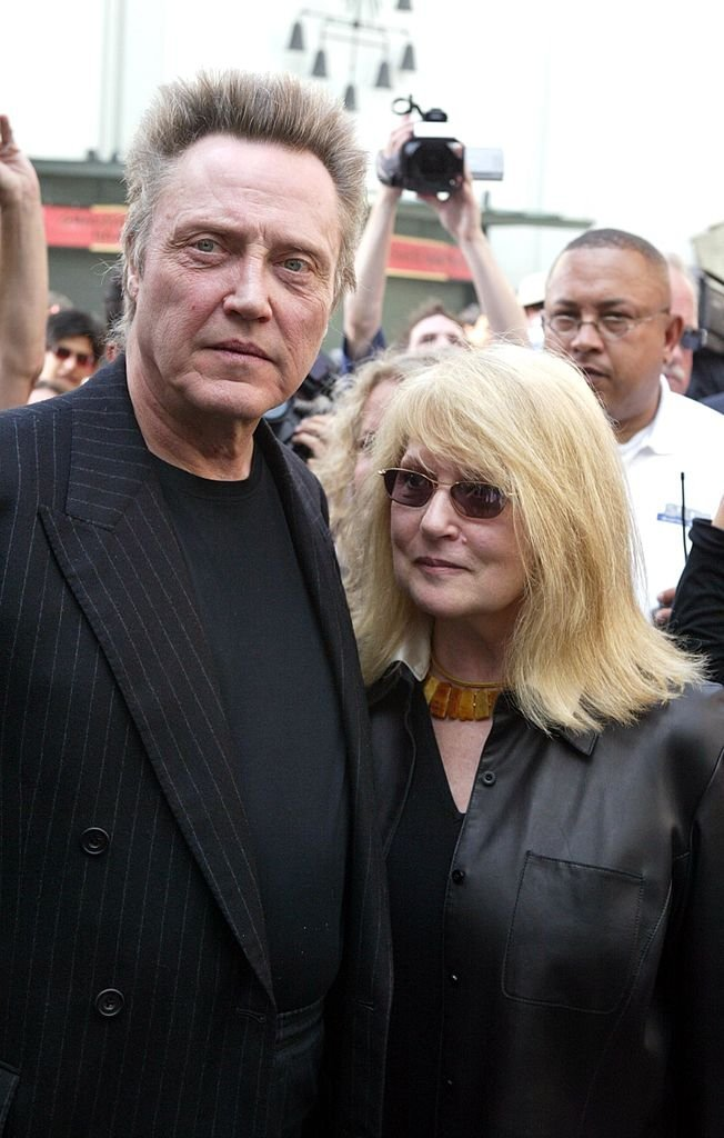 Christopher Walken and wife Georgianne Walken attend a hand and footprints ceremony honoring Christopher Walken at the Grauman's Chinese Theatre | Getty Images