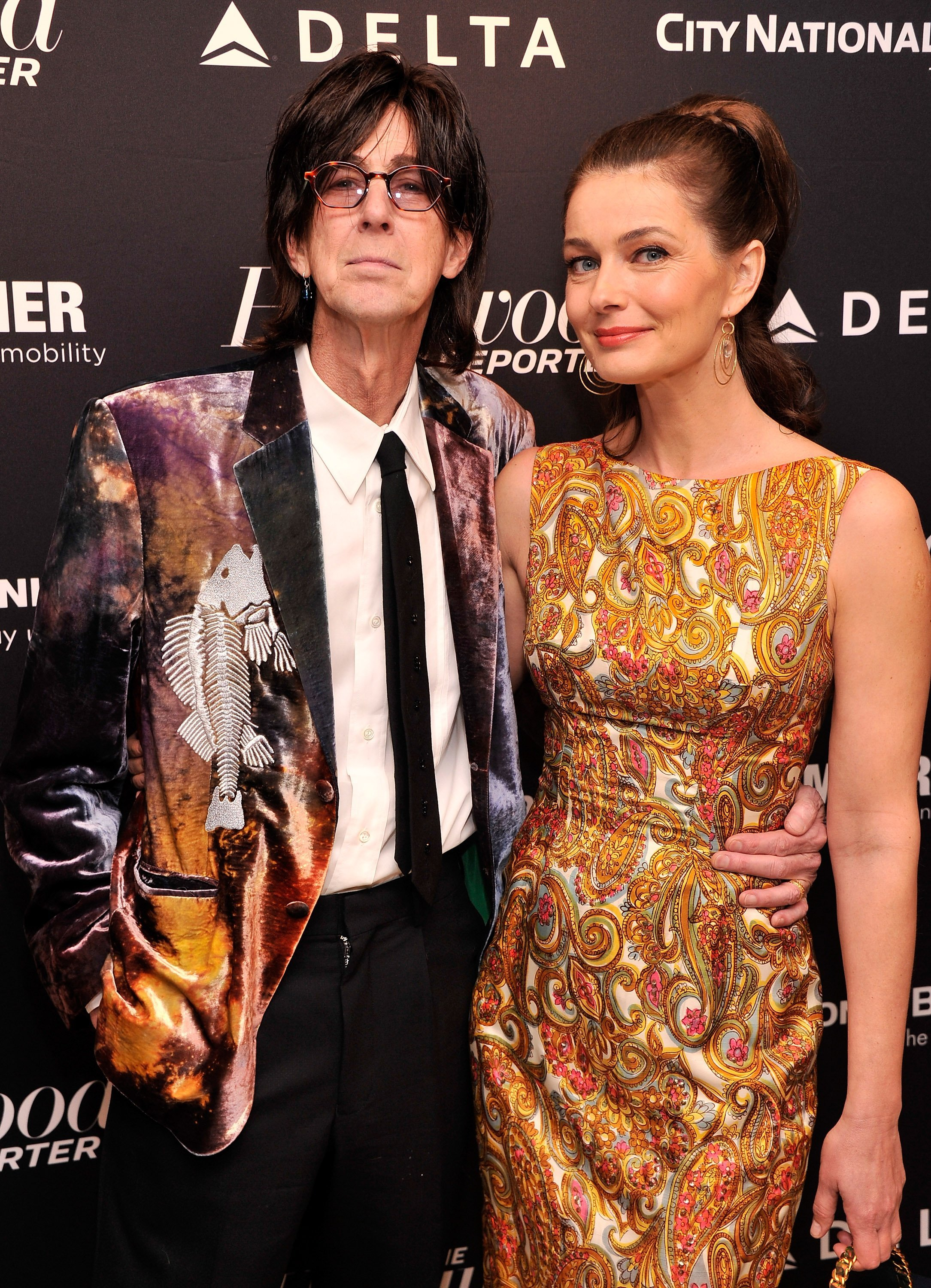 Ric Ocasek and Paulina Priskova attend a Most Powerful People In Media event in New York City on April 10, 2013 | Photo: Getty Images