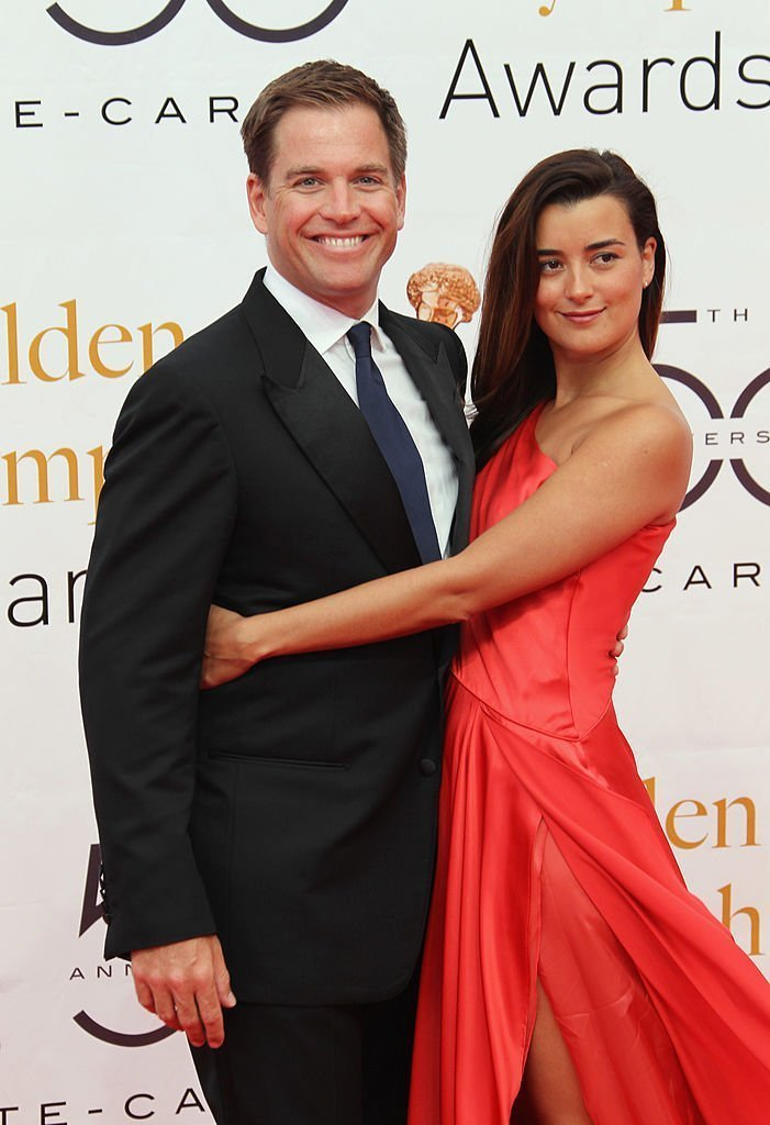 Cote de Pablo and Michael Weatherly arrive at the Monte Carlo TV Festival Closing Ceremony at the Grimaldi Forum on June 10, 2010 | Photo: GettyImages