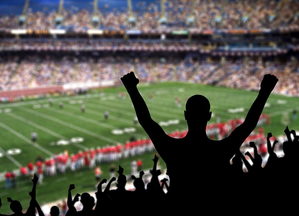 A photo of soccer fans in a stadium   Photo: Shutterstock