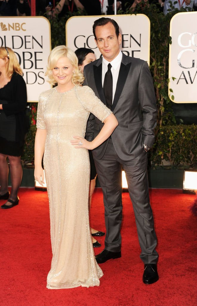 Amy Poehler and Will Arnett arrive at the 69th Annual Golden Globe Awards  | Getty Images