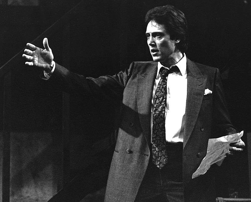 """Christopher Walken in the 1984 stage play """"Hurlyburly"""" 