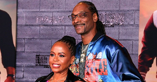 Snoop Dogg Shows Adoration for His Wife as He Shares Pic of Shante Broadus in Sparkly Jumpsuit & Blue Coat