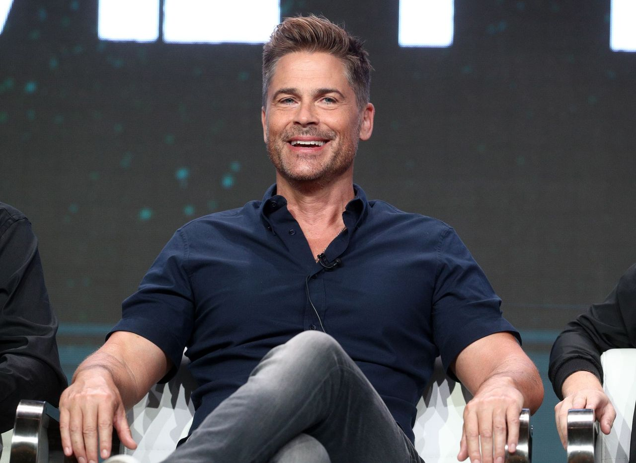 Rob Lowe at the A+E portion of the 2017 Summer Television Critics Association Press Tour at The Beverly Hilton Hotel on July 28, 2017 in Beverly Hills, California   Photo: Getty Images