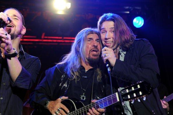 Abi Ofarim, seine Söhne Tal und Gil Ofarim, Comeback-Konzert, München, 2009 | Quelle: Getty Images
