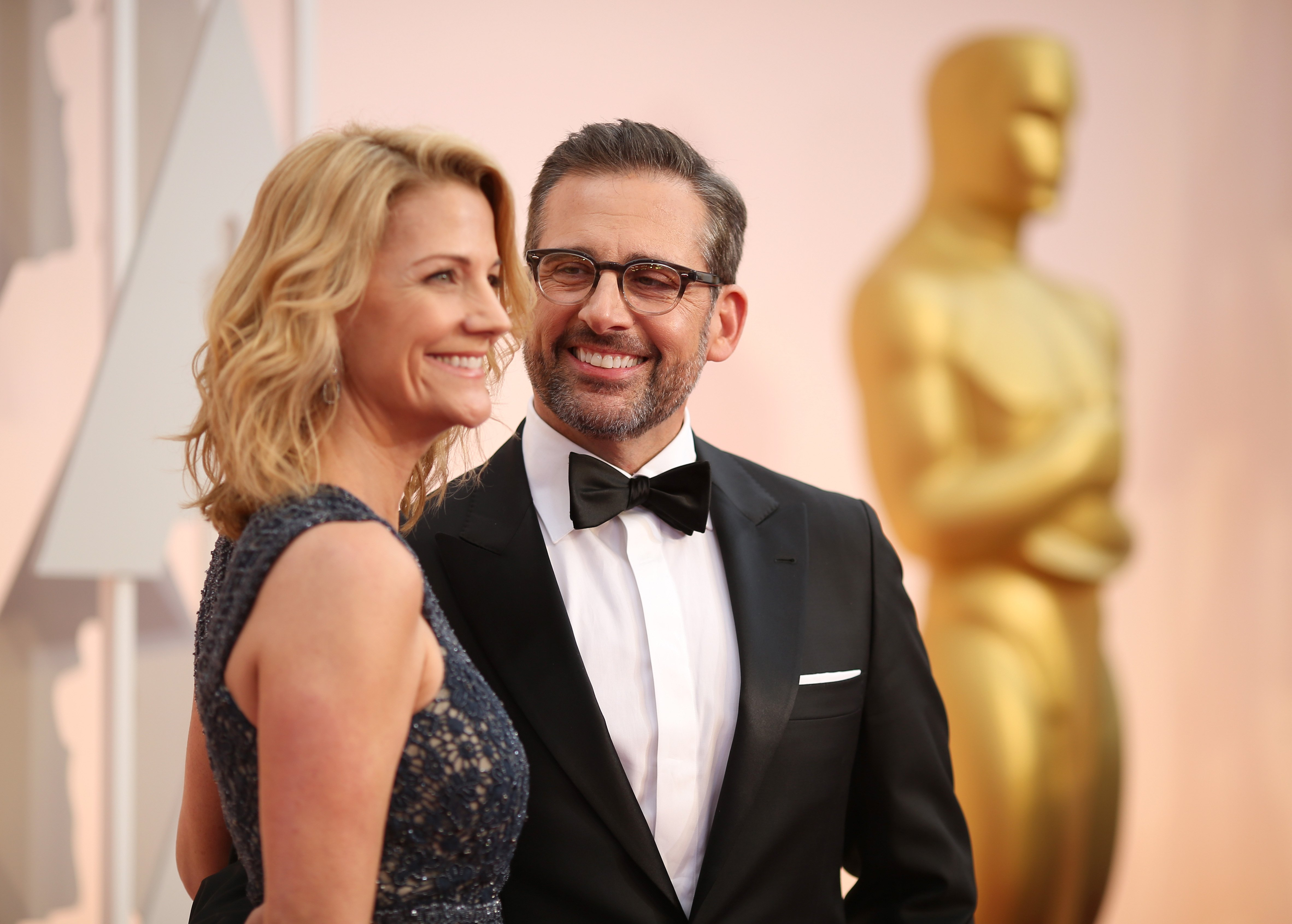 Steve Carell and Nancy Carell attend the 87th Annual Academy Awards at Hollywood & Highland Center on February 22, 2015 in Hollywood, California. | Photo: GettyImages