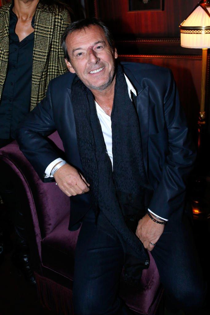 L'animateur Jean-Luc Reichmann le 14 septembre 2017 à Paris. l Source : Getty Images