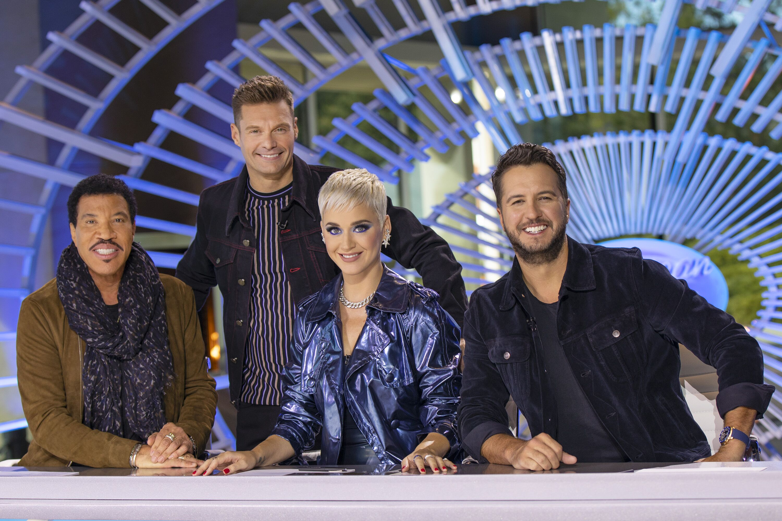 Lionel Richie, Ryan Seacrest, Katy Perry and Luke Bryan, American Idol| Photo: GettyImages