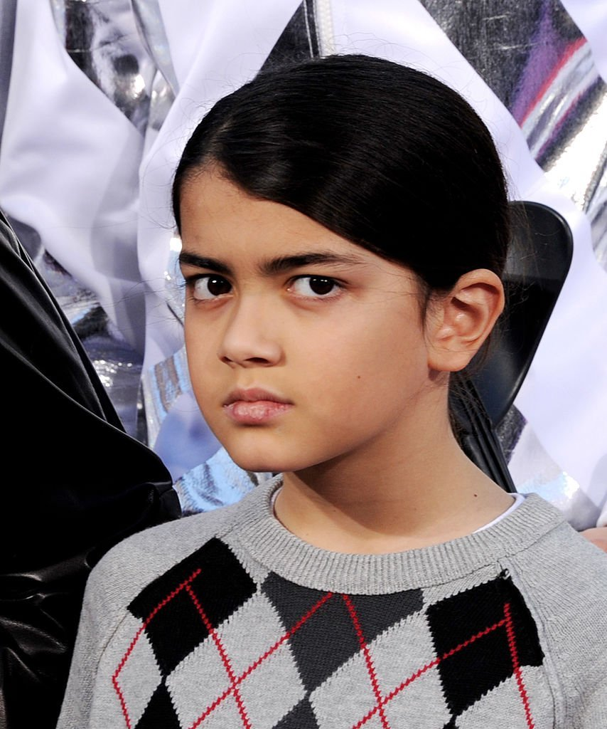 Blanket Jackson appears at the Michael Jackson Hand and Footprint ceremony at Grauman's Chinese Theatre | Photo: Getty Images