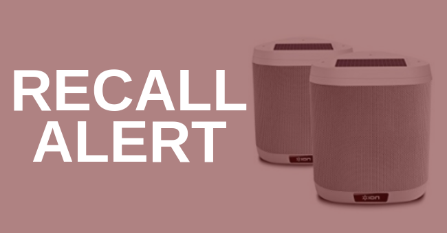 More Than 41,000 Portable Speakers Recalled After Multiple Reports Of Explosions