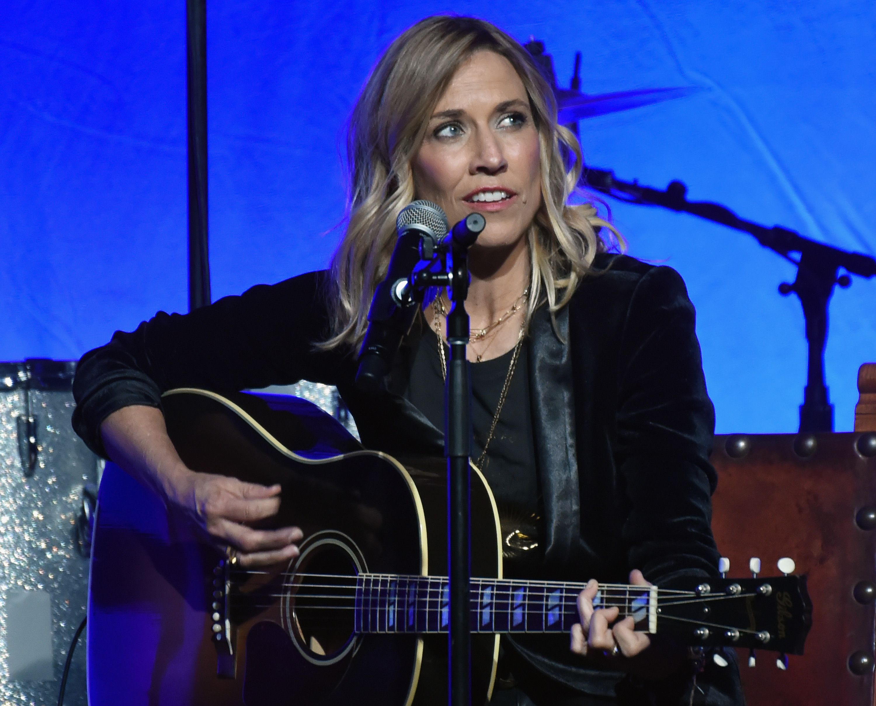 heryl Crow performs during An Intimate Evening Celebrating The Songs of Sheryl Crow & Jeff Trott on November 2, 2017. | Getty Images