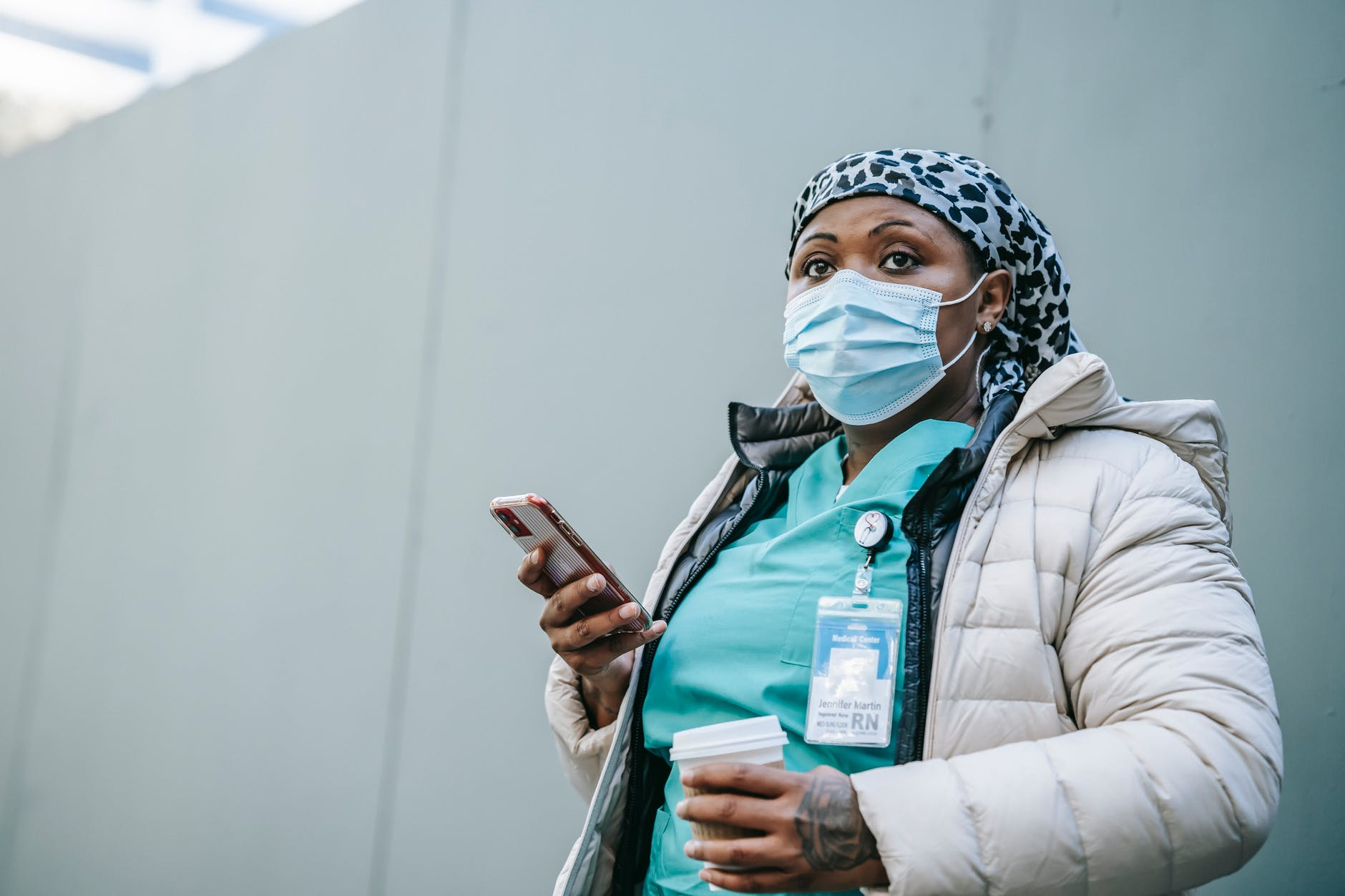 Nurse Becky walked into the room and started recording.   Source: Pexels