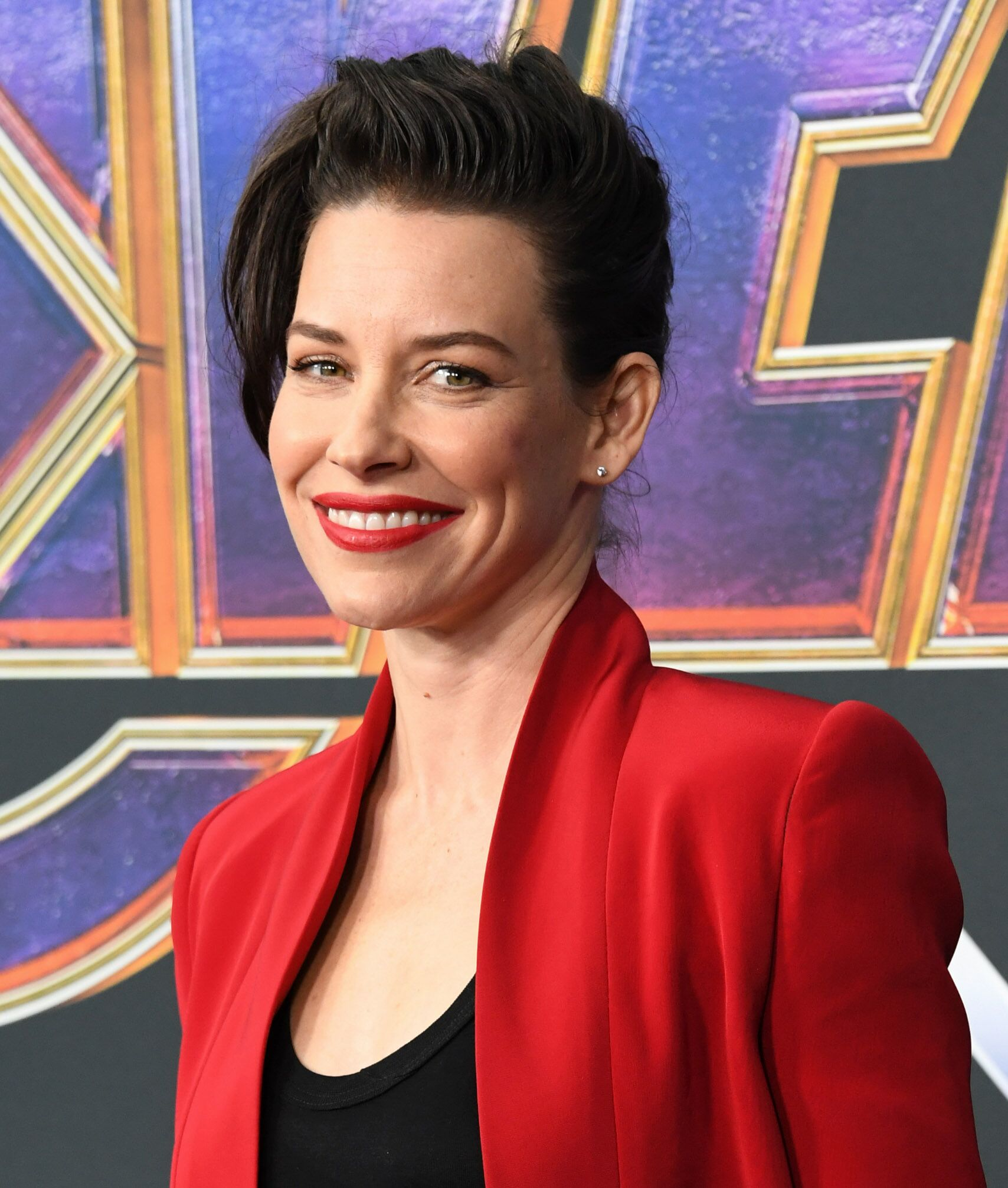 "Evangeline Lilly at the world premiere of ""Avengers: Endgame"" at the Los Angeles Convention Center on April 22, 2019, in California 