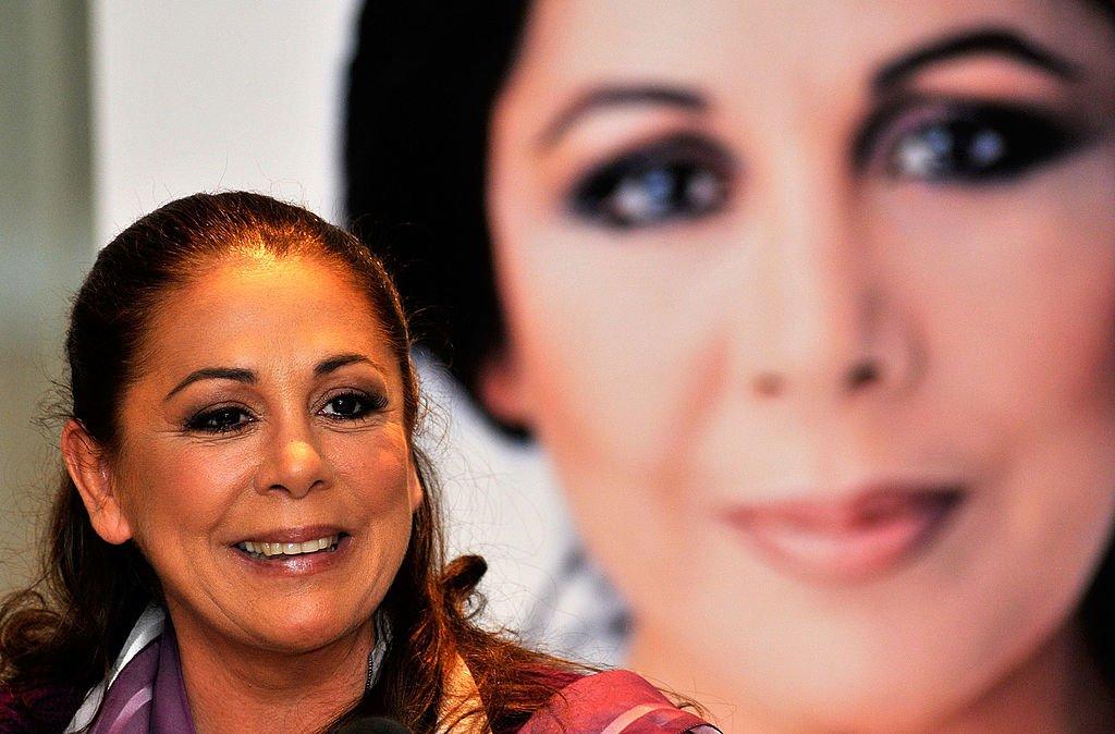 Isabel Pantoja.   Imagen tomada de: Getty Images/GlobalImagesUkraine
