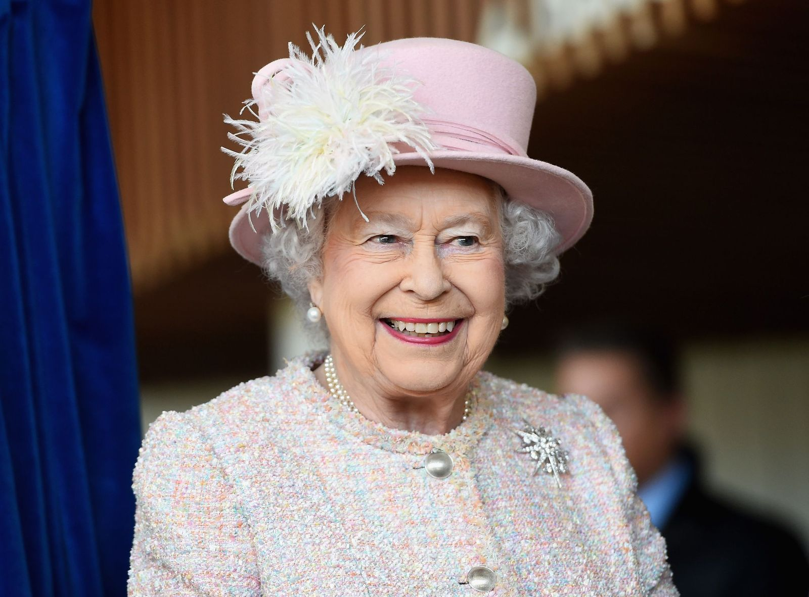 Queen Elizabeth IIat the Chichester Theatre while visiting West Sussex on November 30, 2017, in Chichester, United Kingdom | Photo:Stuart C. Wilson/Getty Images