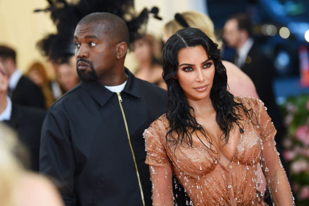 Kim Kardashian West and Kanye West attend The 2019 Met Gala Celebrating Camp: Notes on Fashion at Metropolitan Museum of Art | Photo: Getty Images