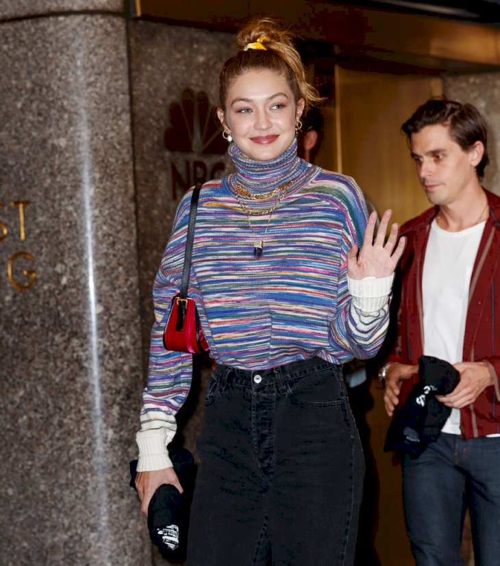Gigi Hadid heading to SNL Afterparty Photo   Getty Images
