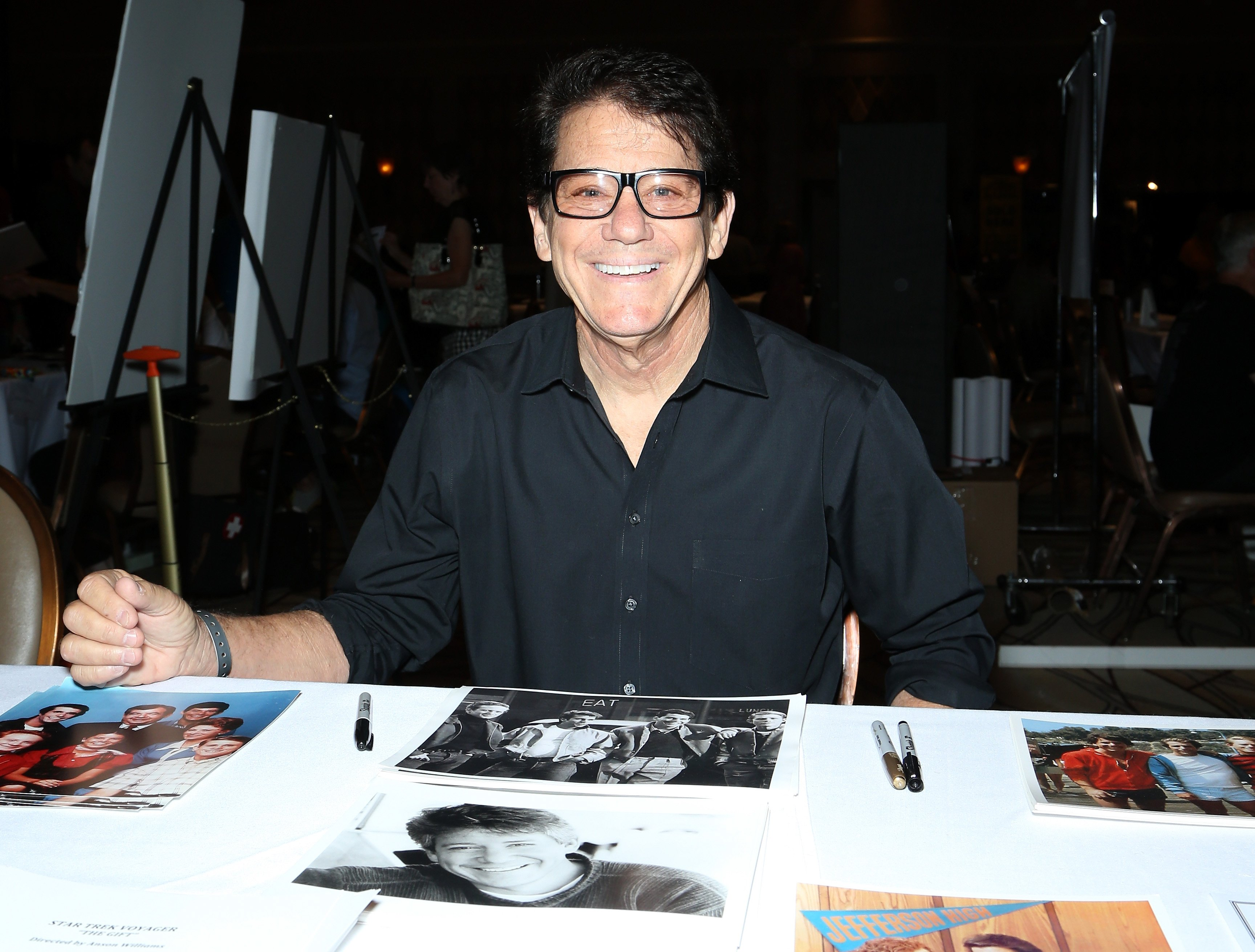 Anson Williams attends the 14th annual official Star Trek convention on August 6, 2015   Photo: Getty Images