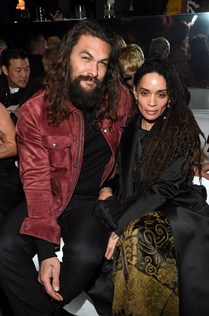 Jason Momoa and Lisa Bonet attend the Tom Ford AW20 Show at Milk Studios on February 07, 2020 in Hollywood, California I Credit: Getty Images