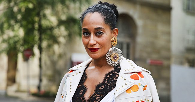 Tracee Ellis Ross Looks Fashionable Rocking a Yellow Turtleneck Paired with Chic Green Pants