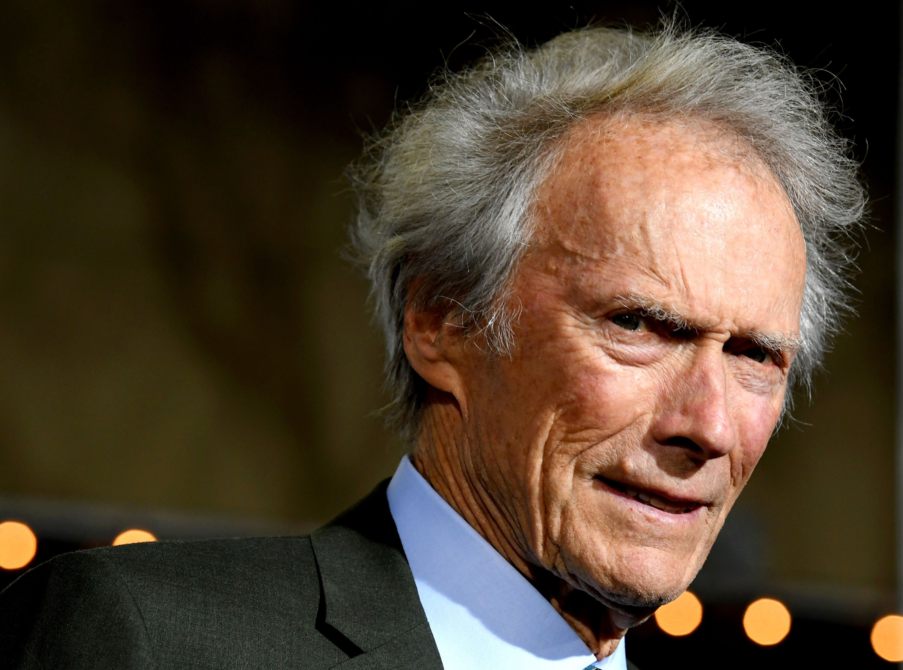"Clint Eastwood arrives at the premiere of Warner Bros. Pictures' ""The Mule"" at the Village Theatre on December 10, 2018. 