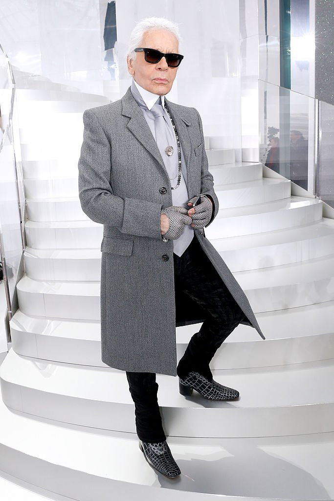 Le designer Karl Lagerfeld | Photo : Getty Images