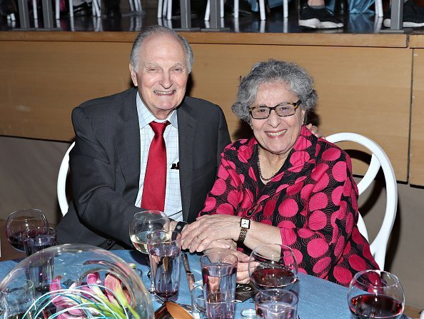 Actor Alan Alda and wife Arlene Alda attend the World Science Festival's 12th Annual Gala at Jazz at Lincoln Center on May 22, 2019 in New York City | Photo: Getty Images