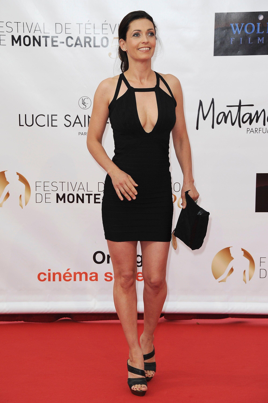 Adeline Blondieau assiste à l'Espace Glamour Chic de l'hôtel George V à Paris, France. | Photo : GettyImage