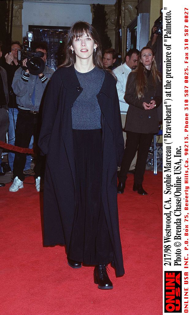 """Sophie Marceau à Westwood en 1998 pour la première de """"Palmetto"""". l Source : Getty Images"""