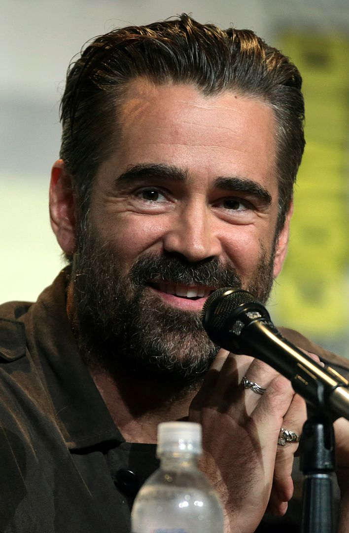 Colin Farrell at the 2016 San Diego Comic-Con International in San Diego, California. | Photo: Wikimedia Commons