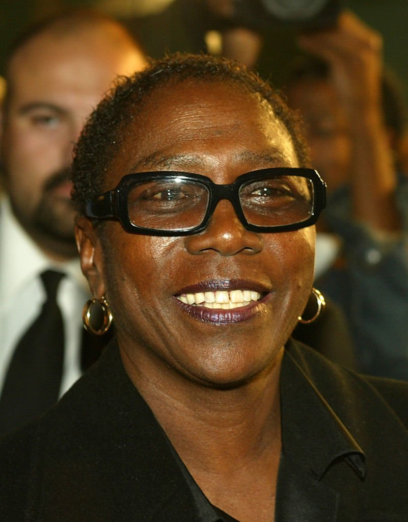 "Afeni Shakur attends the film premiere of ""Tupac Resurrection"" at the Cinerama Dome Theater on November 4, 2003. 