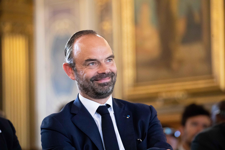 Le Premier ministre Édouard Philippe. l Source : Getty Images