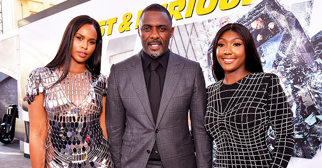 Idris Elba's Daughter Isan Dons Black Mini Dress for 'Hobbs & Shaw' Premiere